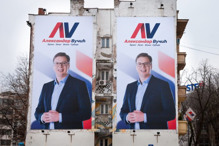 vucic poster novi sad