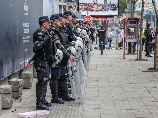 policemen belgrade gay pride 2017 serbia 3