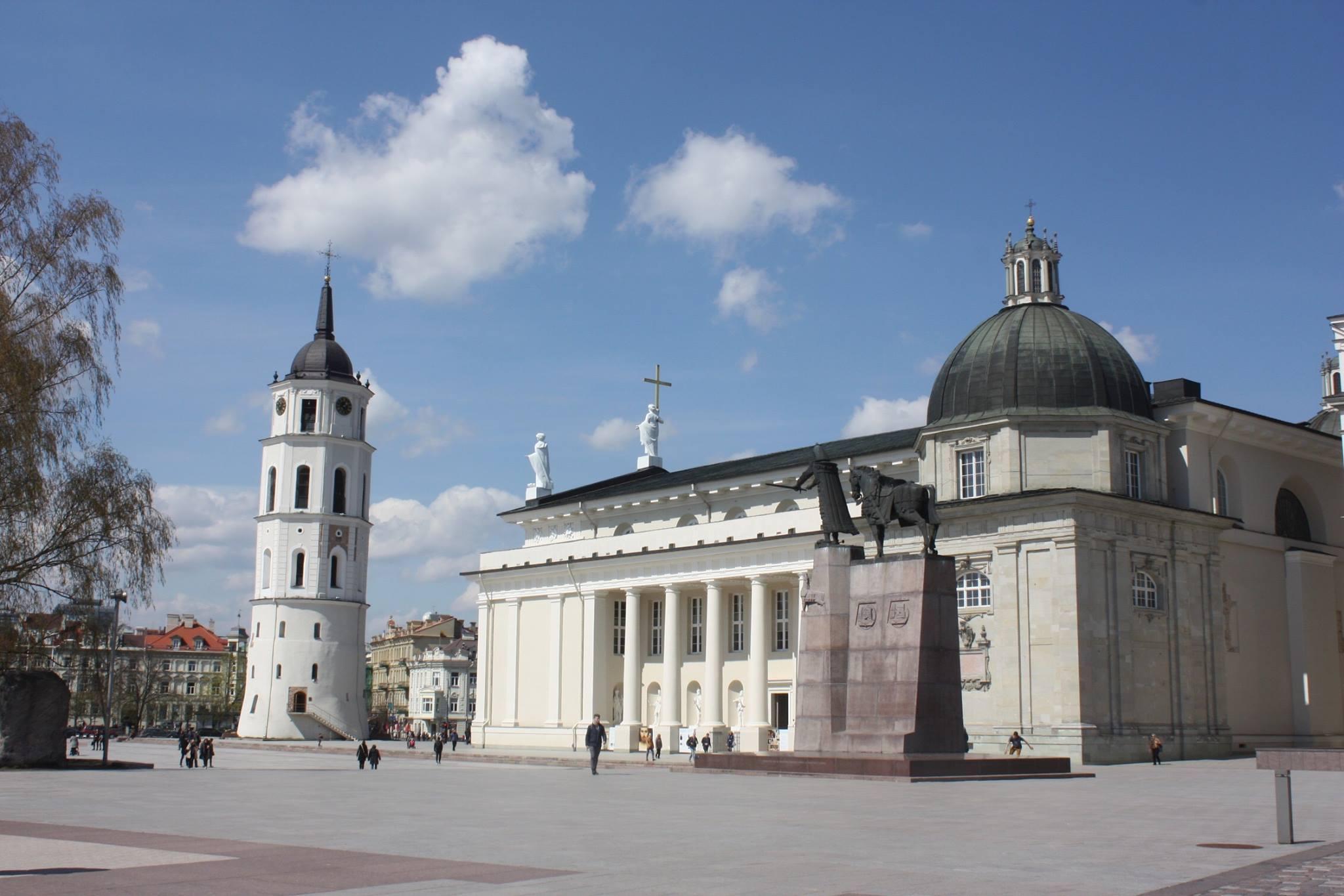 Vilnius Cathe%CC%81drale Lituanie Hajde