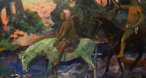 """Le gué"", Paul Gauguin"