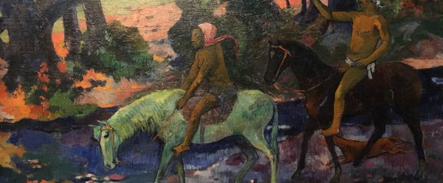 """Le gué"", Paul Gauguin"