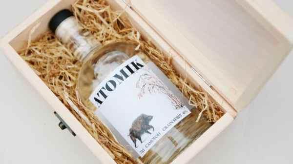 La Vodka Made In Tchernobyl est ATOMIK !