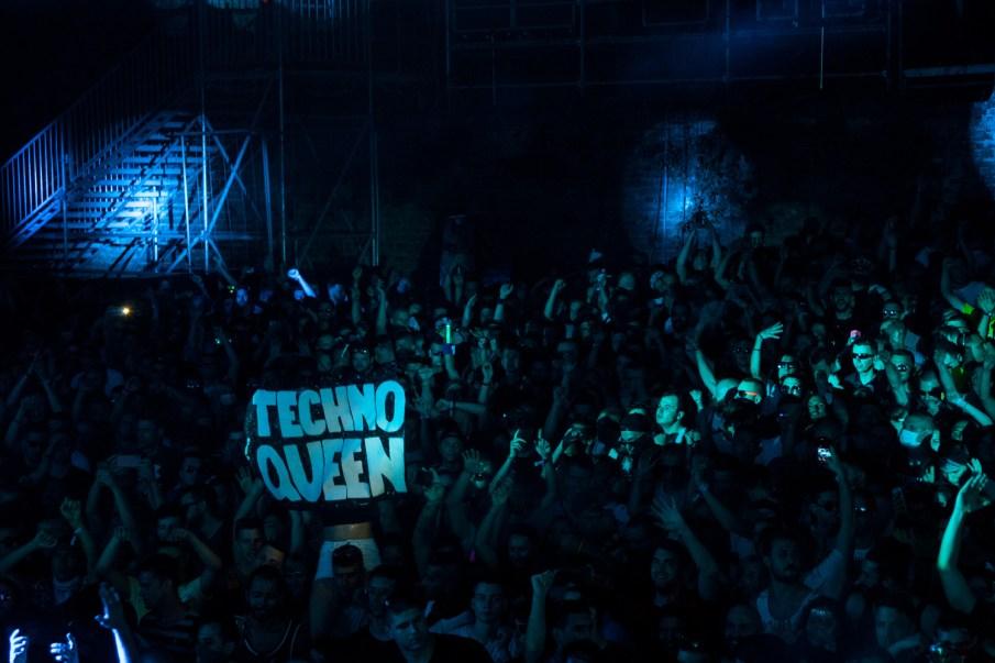 exit festival public concert techno queen
