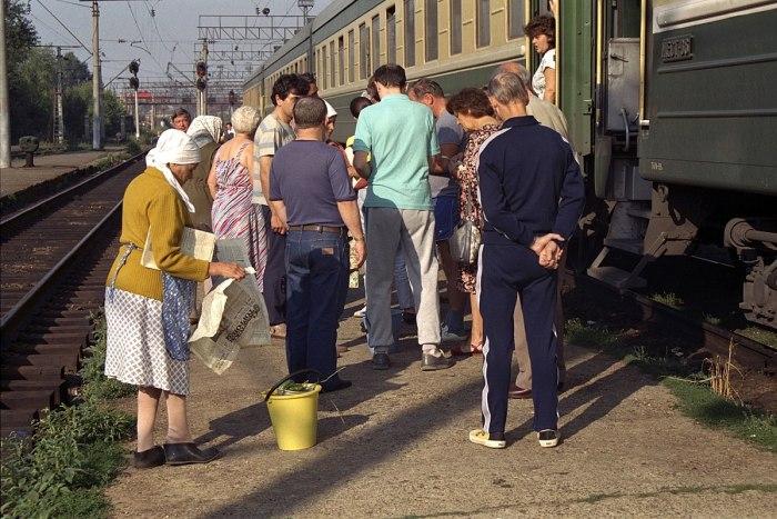 gare transsiberien quai