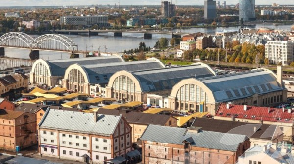 Halte… au marché central de Riga