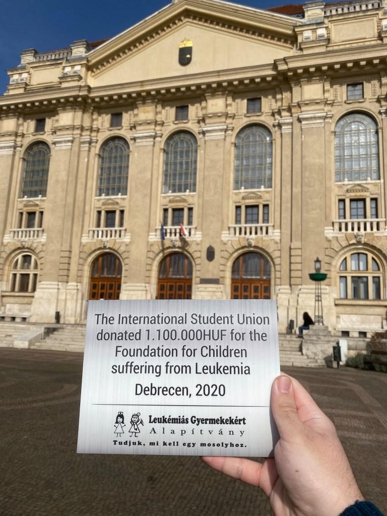 ISU donation