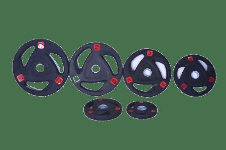 Bumper Weight Plate Olympic Black HAJEX