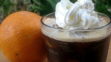 COFFEE GRANITA A LA ORANGE
