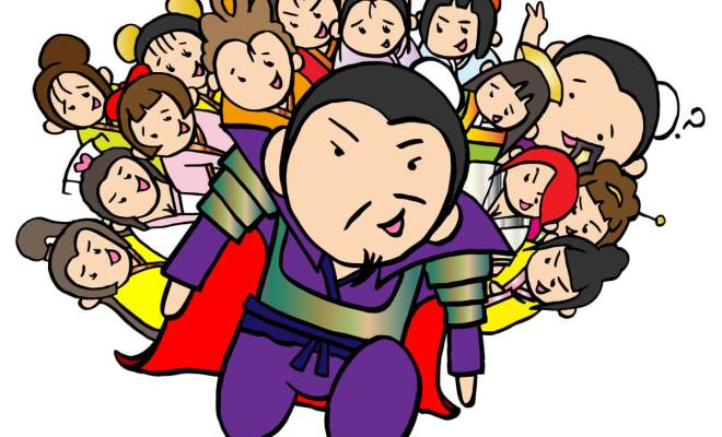 13人の妻達(曹操)
