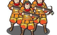袁紹軍は石弓兵が強い