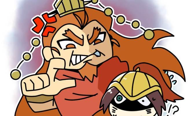戦国昭王、大激怒で白起に死を命ずる (Unicode エンコードの競合)