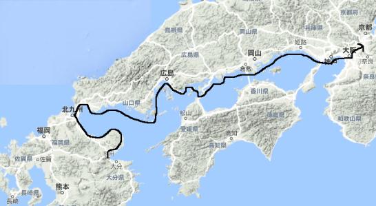 邪馬台国・地図