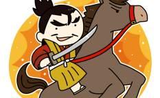 馬に乗って戦う若き織田信長