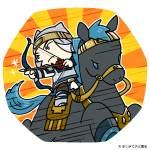 馬に乗って戦う徐晃