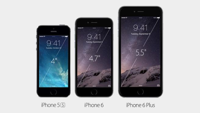 iPhone6とiPhone6Plusが発売