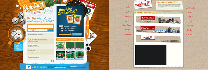 handmade elements websites