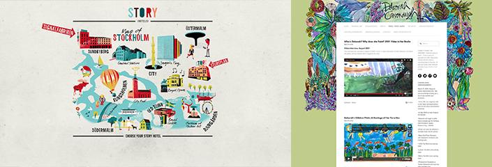 watercolor websites