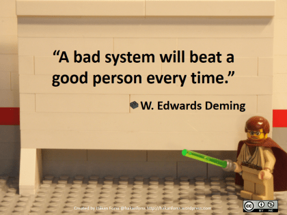 A bad system