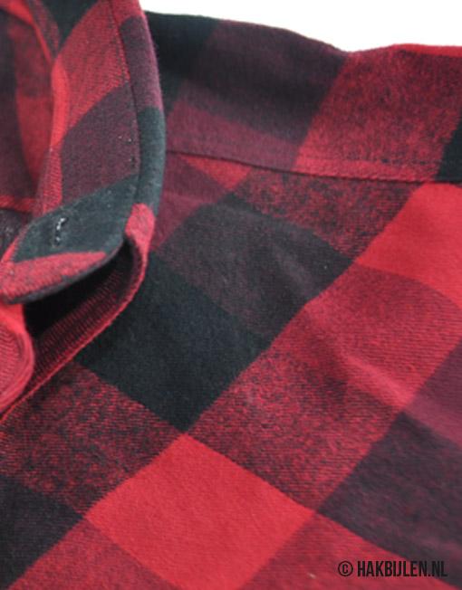 Houthakkershemd Lumbo Pinewood Shirt Flanel 9525 Rood Zwart