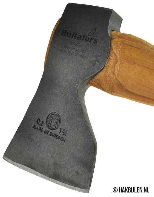 Timmermansbijl SY RA 0,8 Rechte Steel Hultafors 800 gram