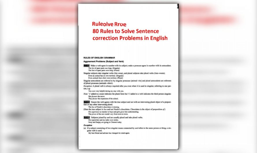 80 ROLES OF SENTENCE