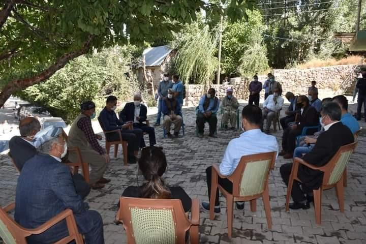 Vali Yardımcısı Kumbasar'dan Şemdinli'ye ziyaret