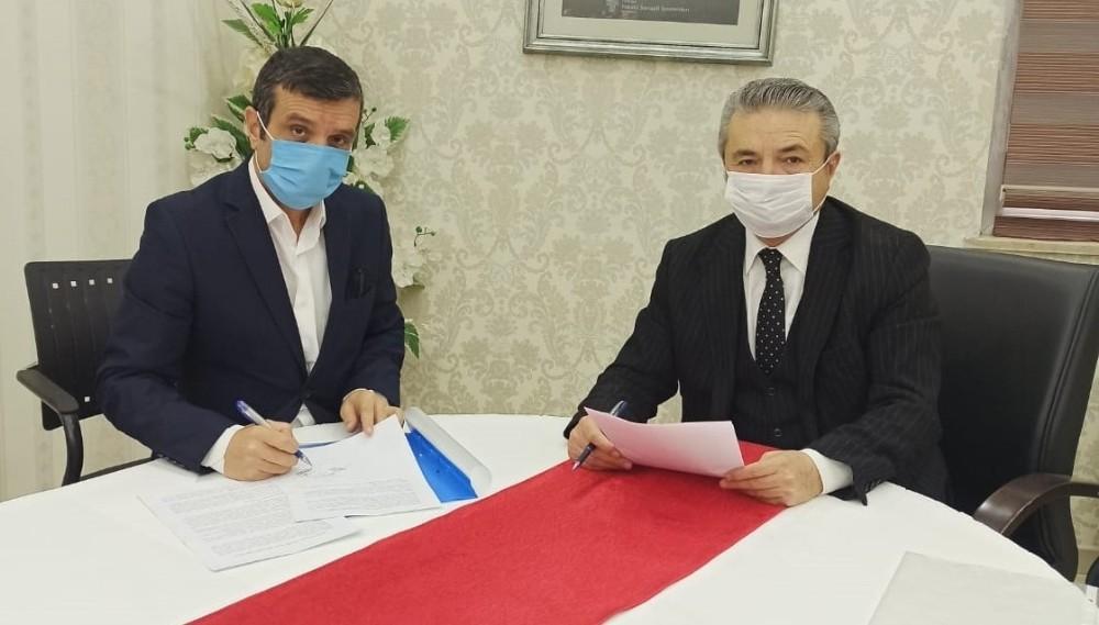 """HATSO ile Ziraat Bankası arasında """"Bankkart Tedarik Zinciri Finansman Protokolü"""" imzalandı"""