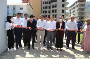 Şemdinli'de 'kitap kafe' hizmete açıldı