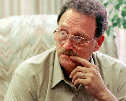 The Associated Press file photo Fred Zain is shown in Charleston, W.Va., in this March 9, 1997, file photo. Zain, a former West Virginia State Police chemist whose discredited work resulted in the payment of millions of dollars to wrongfully convicted defendants, died Monday, Dec. 2, 2002, at his home in Ormond Beach, Fla., according to his lawyer, Tom Smith of Charleston, W.Va.