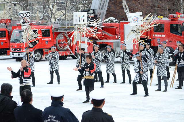 函館市消防出初式