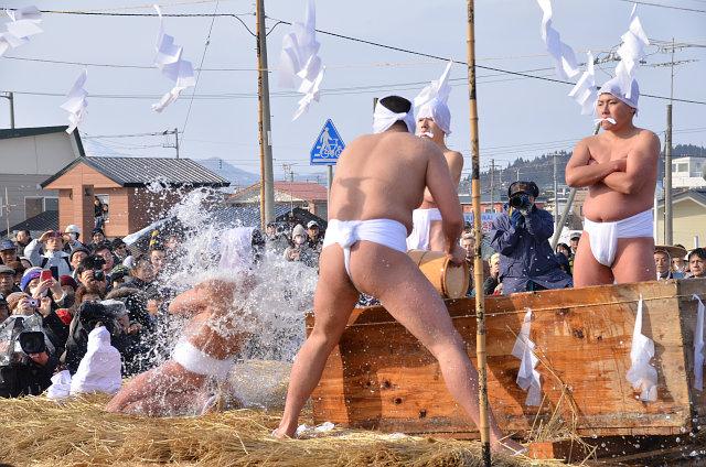 第185回寒中みそぎ祭り