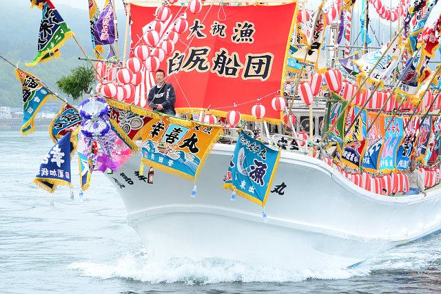 函館南かやべ ひろめ舟祭り