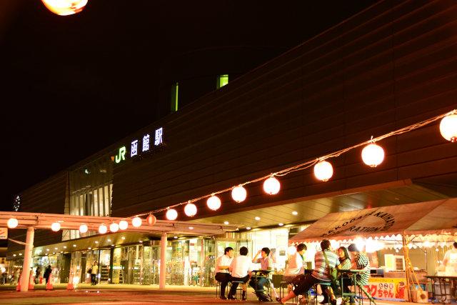 JR函館駅前広場納涼ビアガーデン