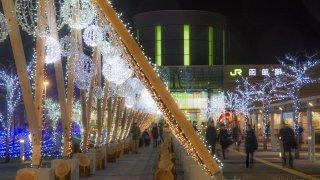 【2016/12/1~2017/2/28】函館駅前広場イルミネーション