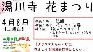 【2017/4/8】湯川寺 花まつり