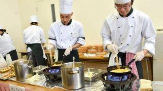 【2018/10/13】函館短大付設調理製菓専門学校 第30回学校祭「味まつり」