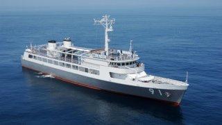 【2019/5/11】海上自衛隊特務艇はしだて一般公開