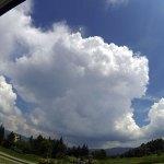発達中の雄大積雲?積乱雲?