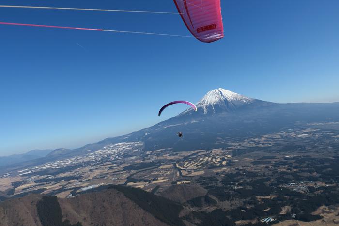 HOOK4林さんと富士山