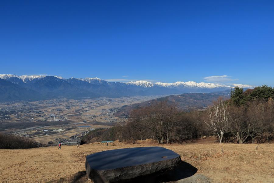 長峰エリアTOから見る景色