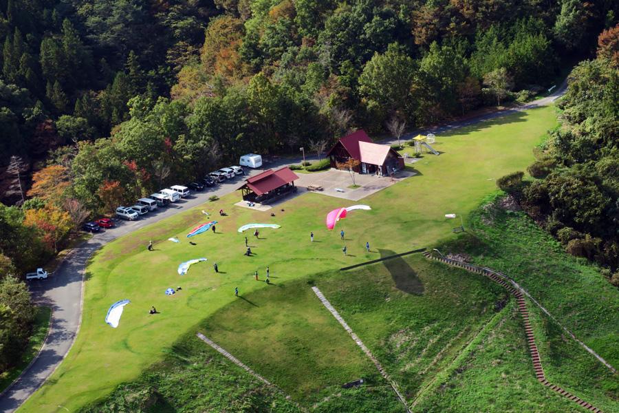 上空から見るスカイスポーツ公園