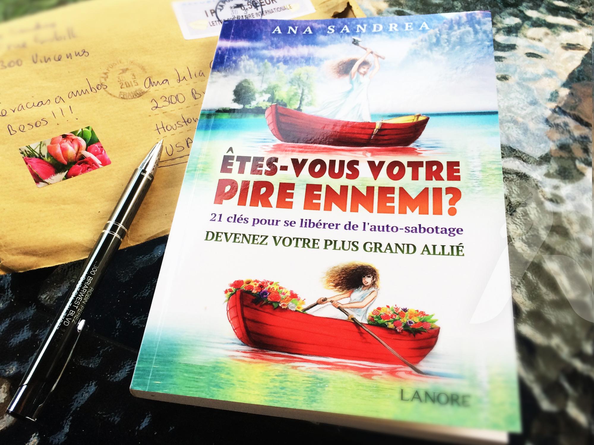 Book cover design & illustration - Etres vous votre pire ennemi?