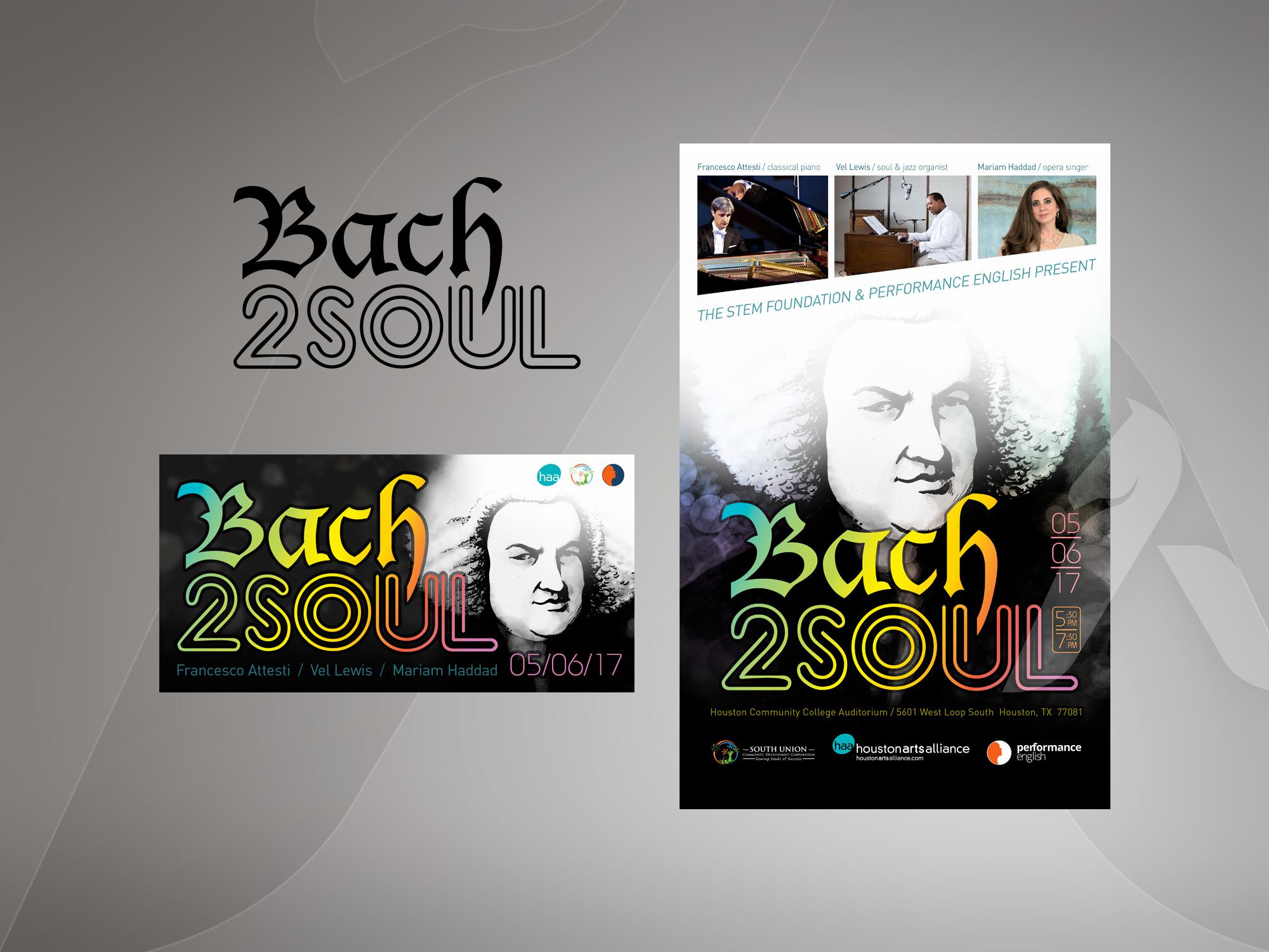 Bach2Soul design & illustration by Hakubashi