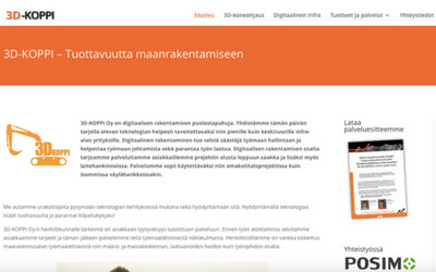 3D-koppi Oy:n www-sivut