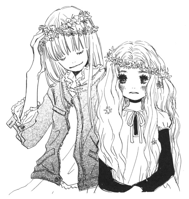 Hagu and Ayumi from Honey and Clover