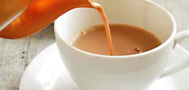 ما هي اضرار الشاي بلبن