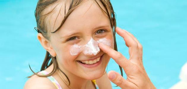 كيفية علاج حروق الشمس للأطفال