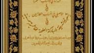 النسب الرفاعي في مخطوطات التذكرة في الانساب المطهرة