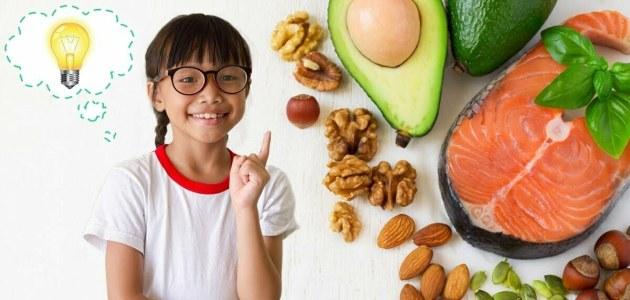 أطعمة تنمي دماغ طفلك وماهي العناصر الغذائية المهمة للنمو