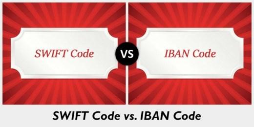 الاختلافات بين ترميز IBAN وترميز SWIFT
